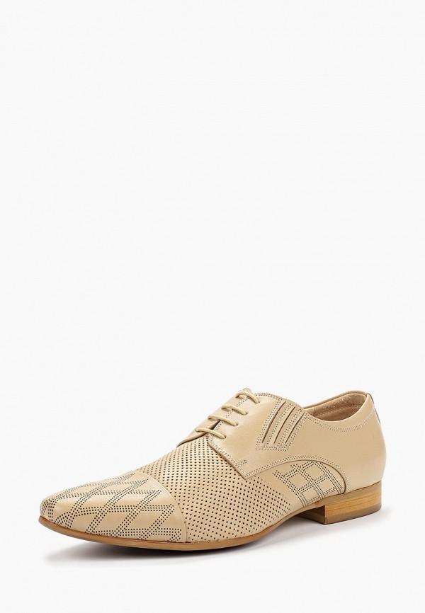 Туфли Franco Bellucci цвет бежевый  Фото 2