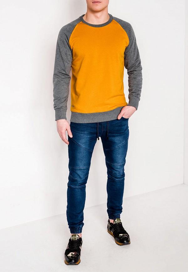 Свитшот Ombre цвет желтый  Фото 2