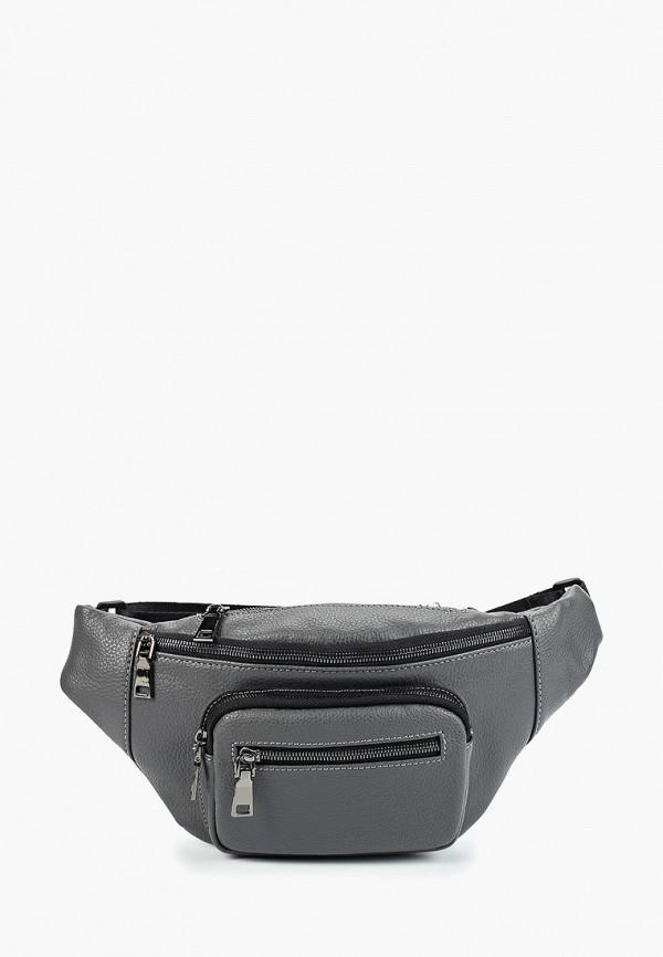 мужская поясные сумка pellecon, серая