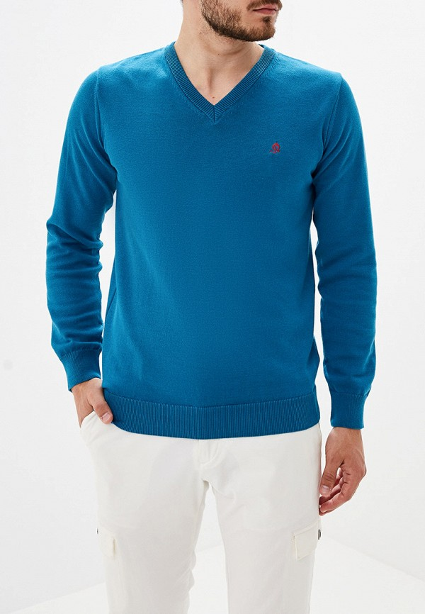 """мужской пуловер """"el caballo"""" sevilla 1892, синий"""