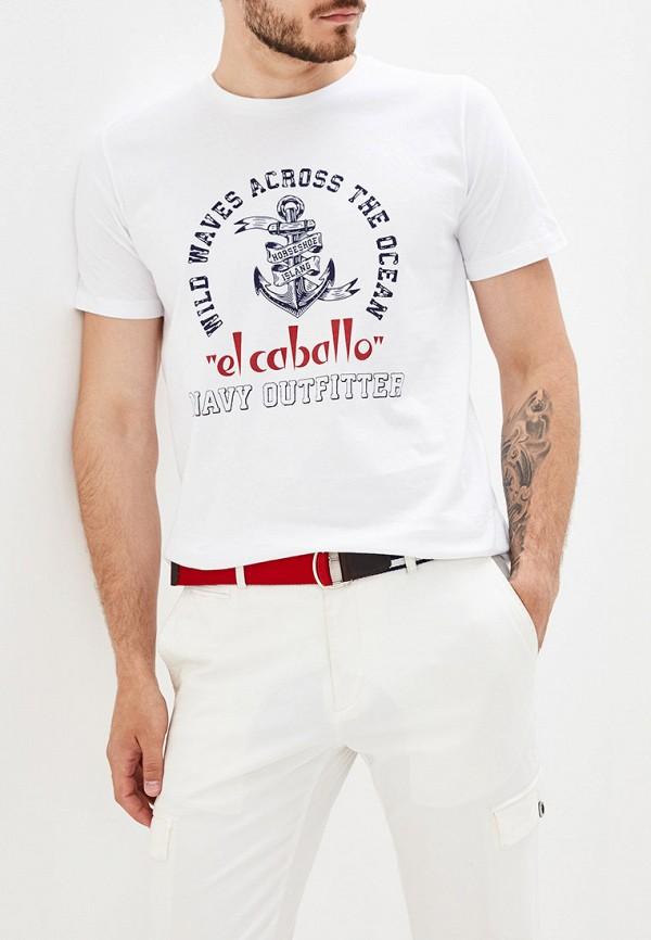 "мужская футболка ""el caballo"" sevilla 1892, белая"