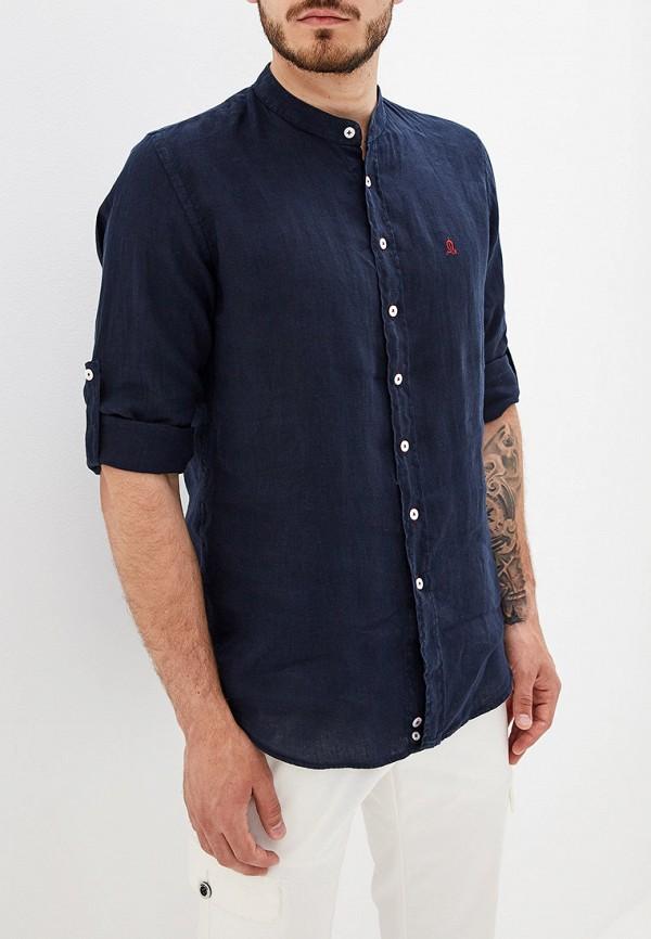 """мужская рубашка """"el caballo"""" sevilla 1892, синяя"""