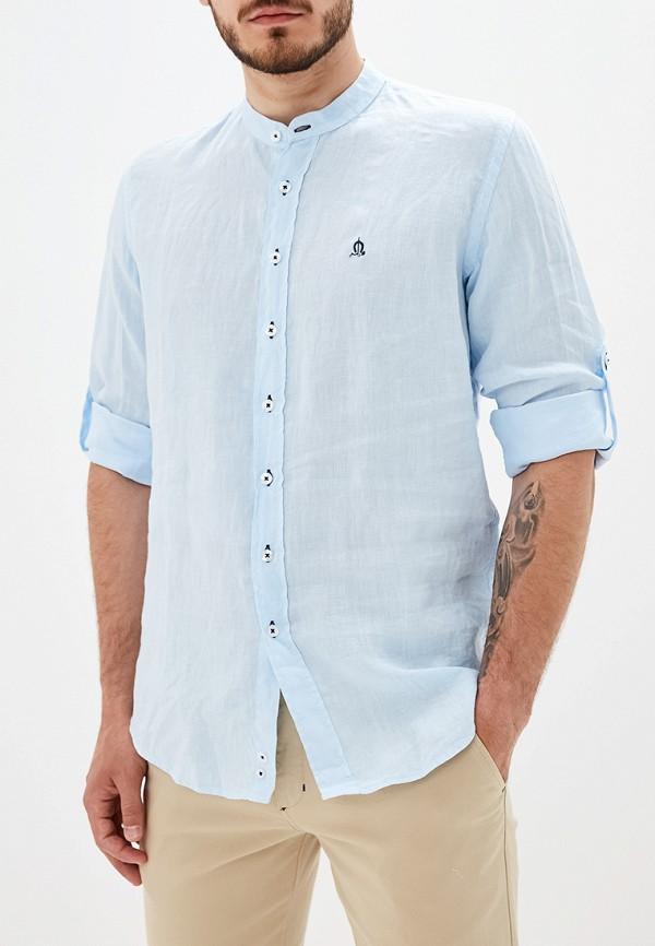 """мужская рубашка """"el caballo"""" sevilla 1892, голубая"""