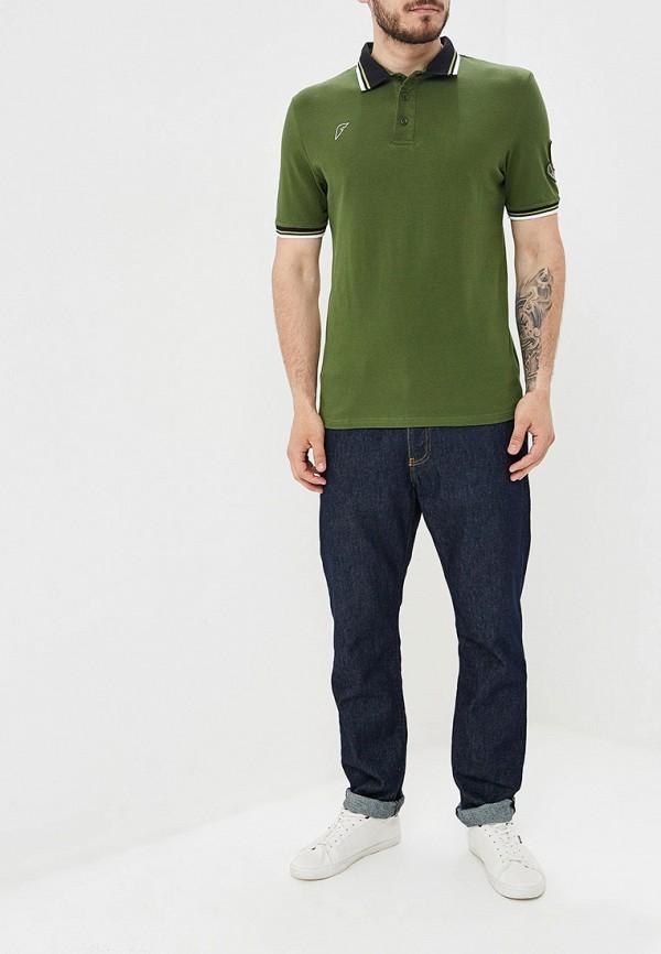 Поло Forward цвет зеленый  Фото 2