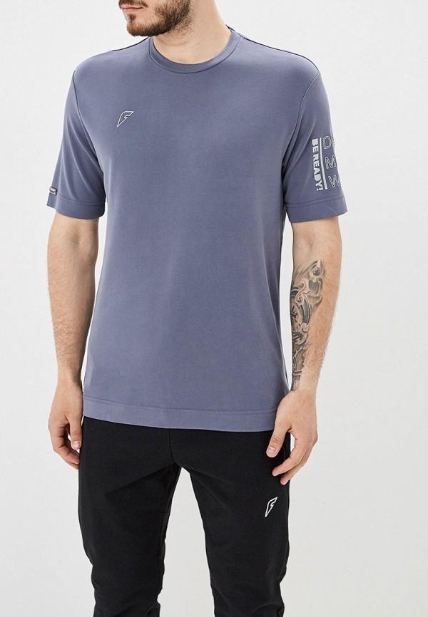 мужская футболка с коротким рукавом forward, серая
