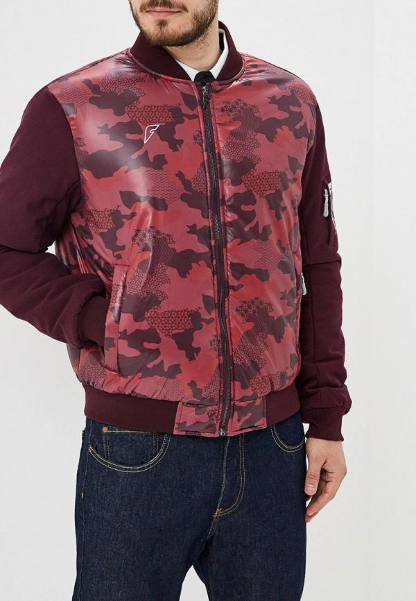 мужская куртка forward, бордовая