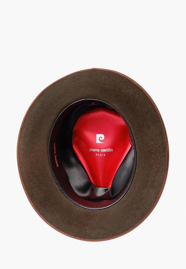 Шляпа Pierre Cardin цвет коричневый  Фото 2