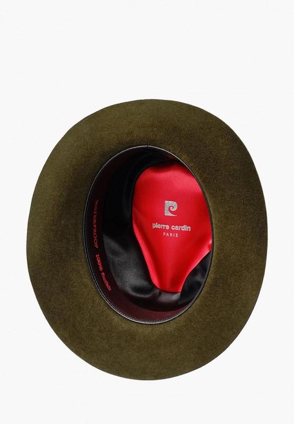 Шляпа Pierre Cardin цвет хаки  Фото 2