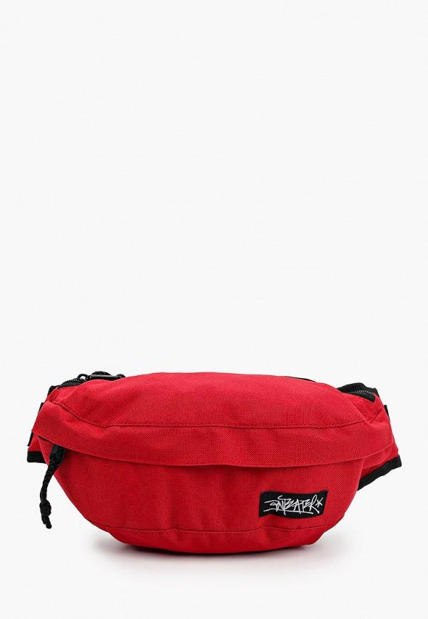 мужская поясные сумка anteater, красная