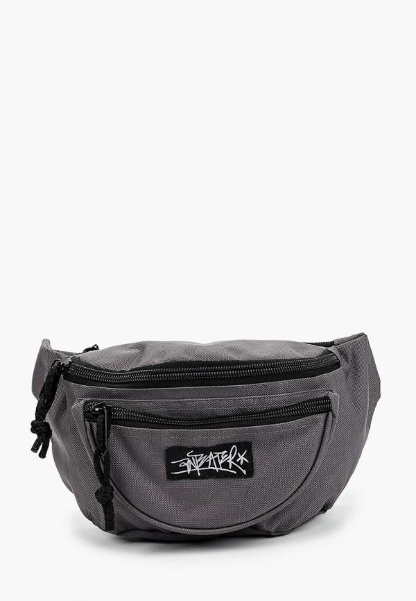 мужская поясные сумка anteater, серая
