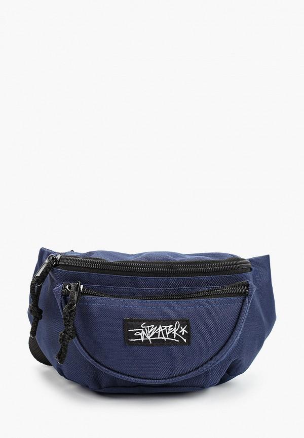 мужская поясные сумка anteater, синяя