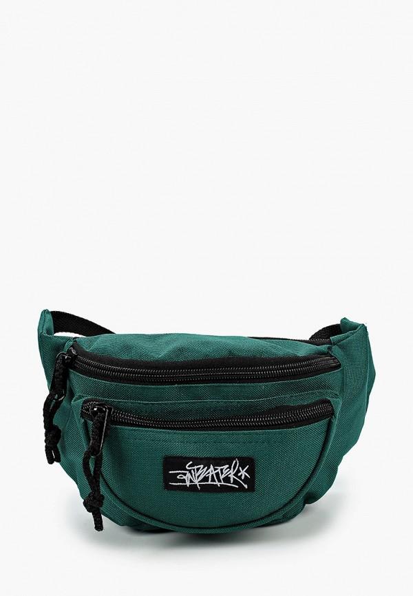 мужская поясные сумка anteater, зеленая