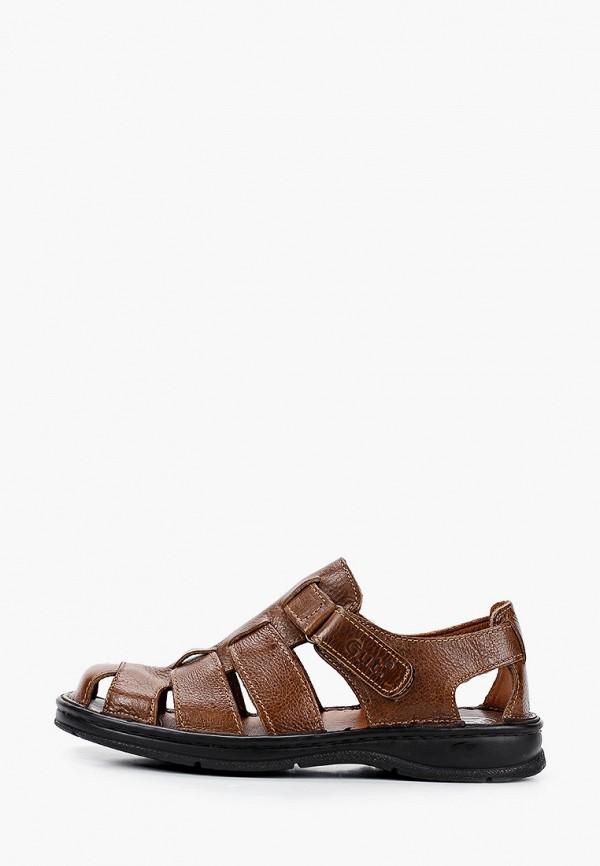 мужские сандалии gut, коричневые