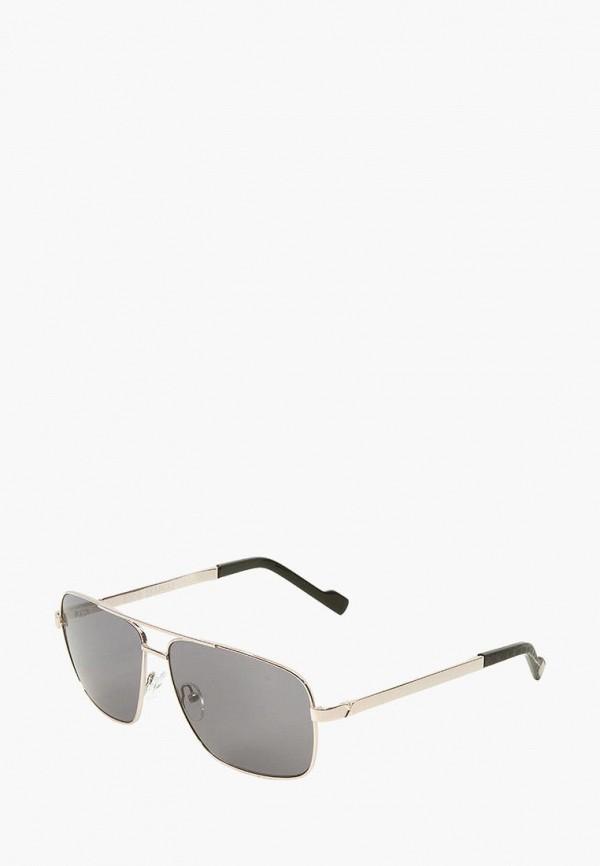 мужские солнцезащитные очки enni marco, серебряные