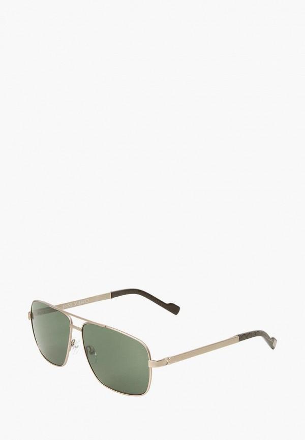 мужские солнцезащитные очки enni marco, золотые