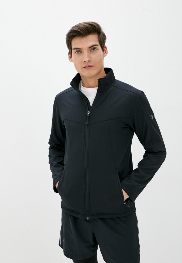 мужская спортивные куртка under armour, черная