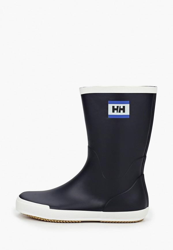 мужские резиновые сапоги helly hansen, синие