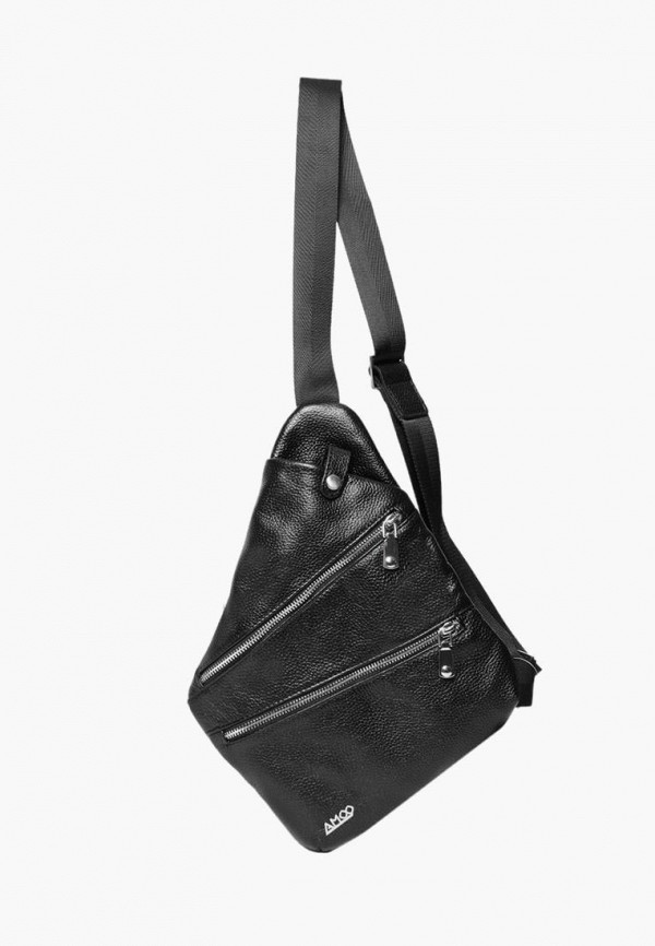 мужская сумка amoo, черная