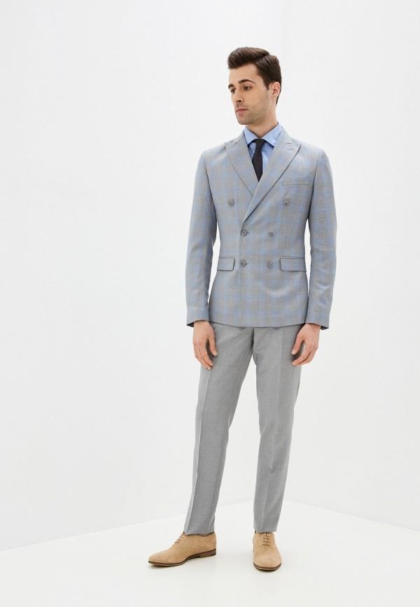 мужской костюм absolutex, серый