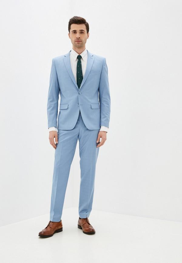 мужской классические костюм absolutex, голубой