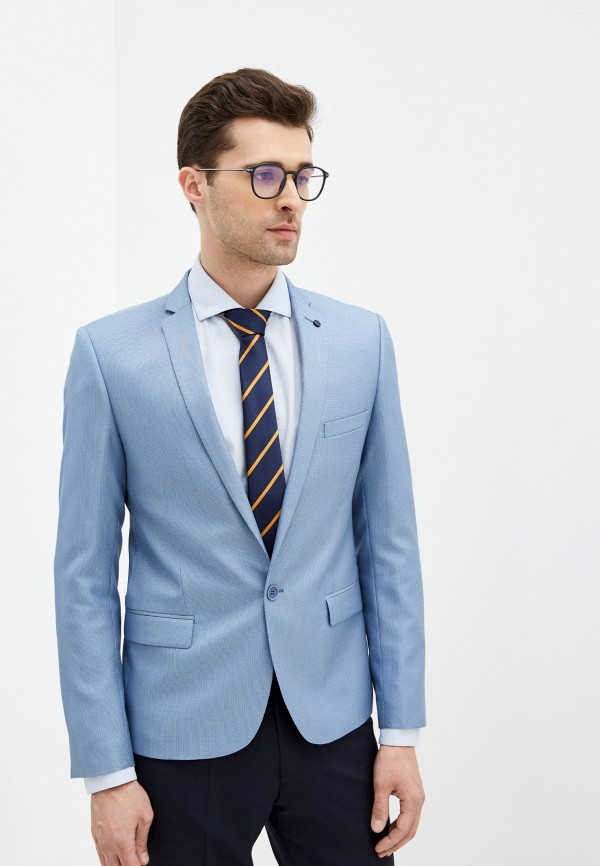 мужской пиджак absolutex, голубой