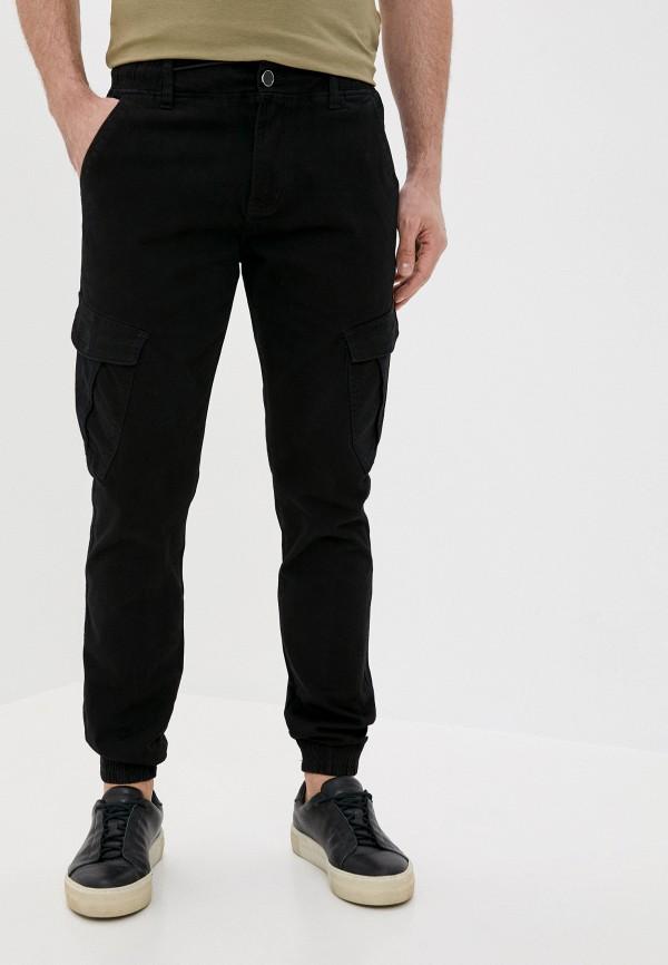 мужские брюки джоггеры fabia monti, черные