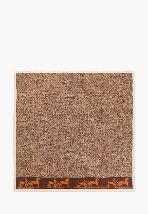 мужской платок shining star, коричневый