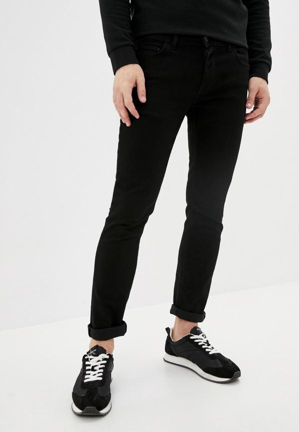 мужские прямые джинсы defacto, черные