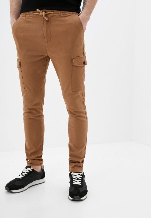 мужские повседневные брюки defacto, бежевые