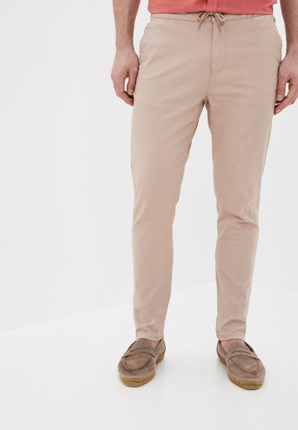 мужские повседневные брюки defacto, розовые