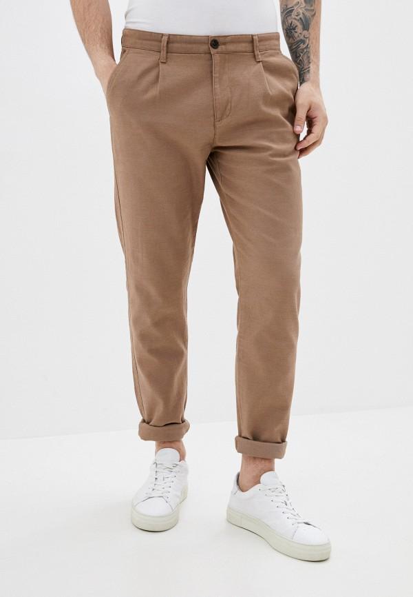 мужские повседневные брюки defacto, коричневые