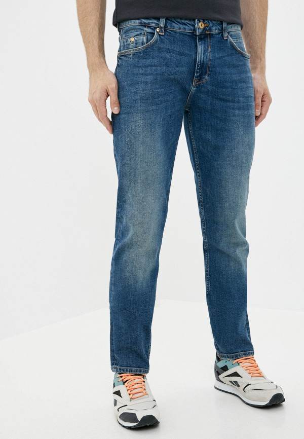 мужские прямые джинсы colin's, синие