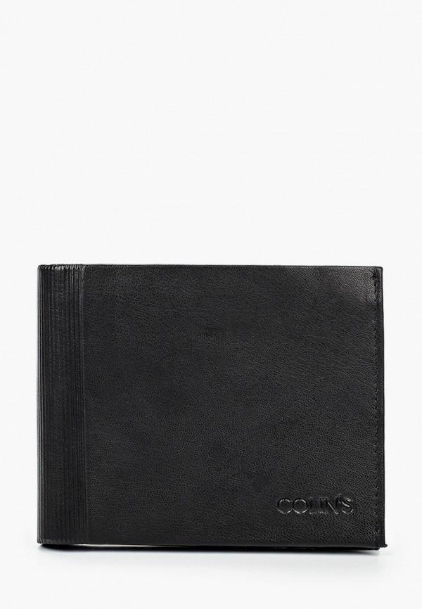 мужской кошелёк colin's, черный