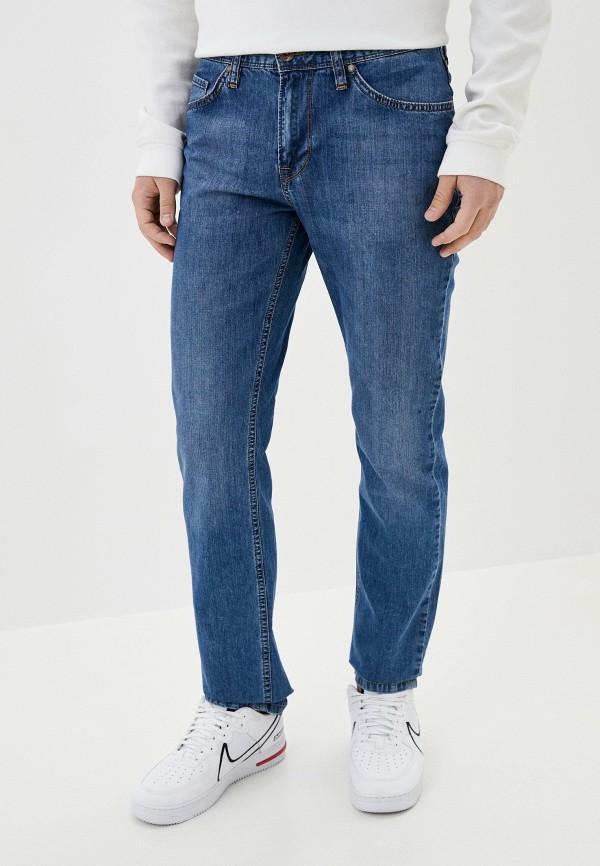 мужские зауженные джинсы dairos, голубые