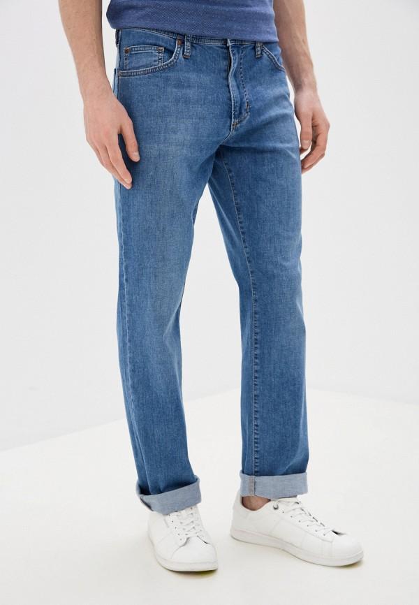 мужские прямые джинсы dairos, голубые