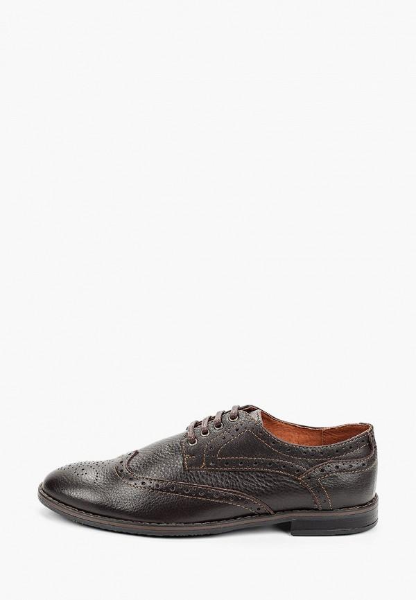мужские низкие ботинки quattrocomforto, коричневые