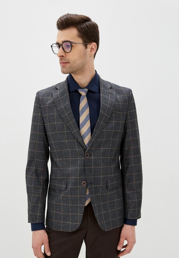 мужской пиджак laconi, серый