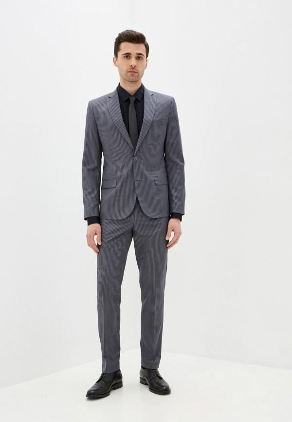 мужской классические костюм absolutex, серый
