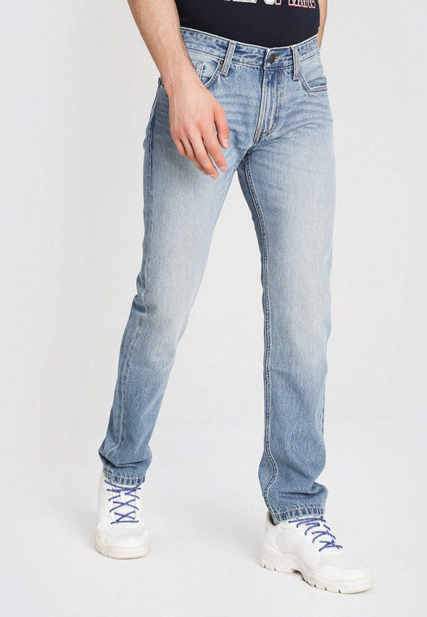 мужские зауженные джинсы o'stin, голубые