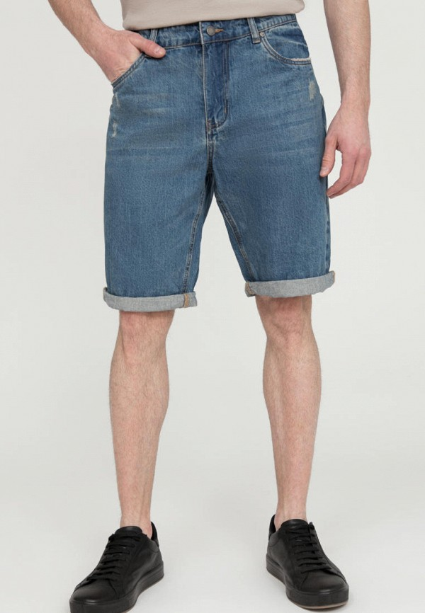 Шорты джинсовые Finn Flare синего цвета