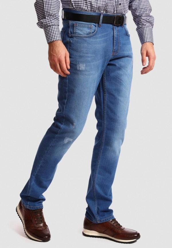 мужские прямые джинсы kanzler, синие