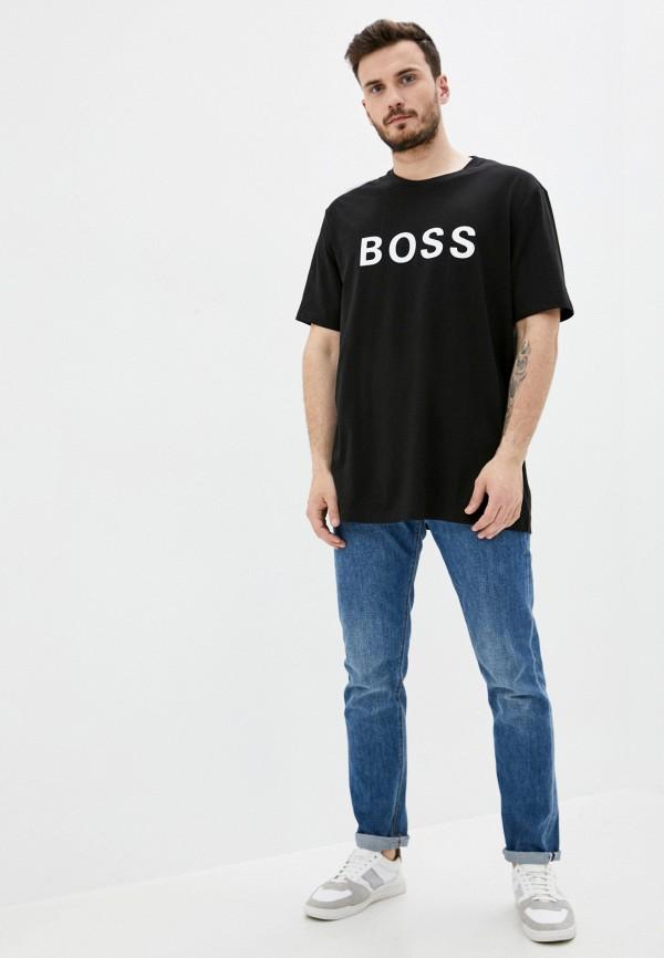 Футболка Boss цвет черный  Фото 2