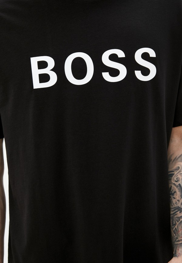 Футболка Boss цвет черный  Фото 4