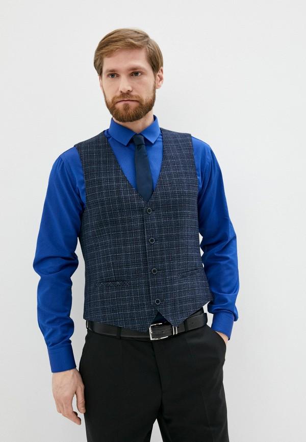 мужской жилет bazioni, синий