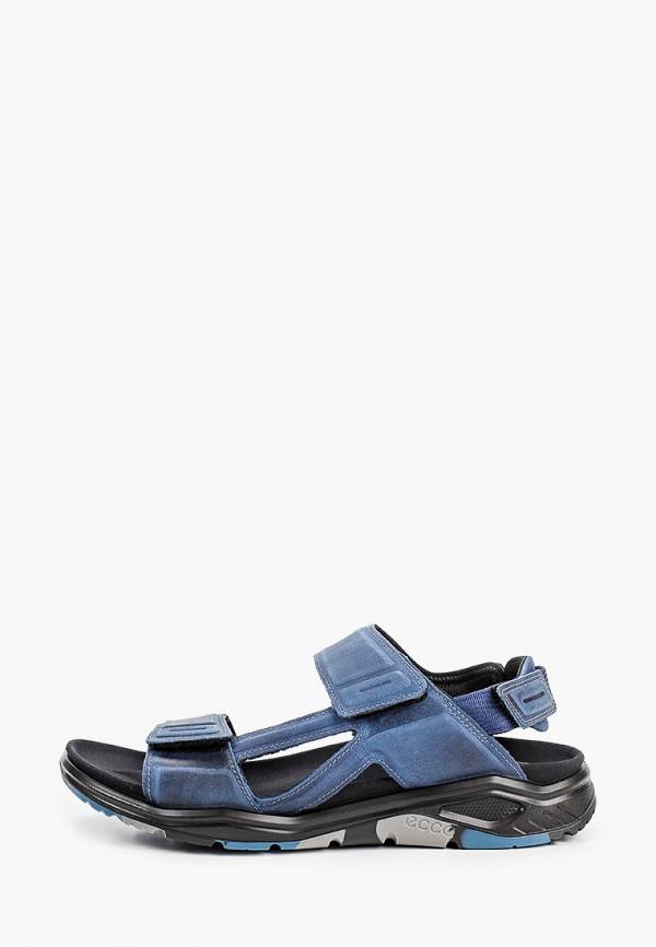 мужские сандалии ecco, синие