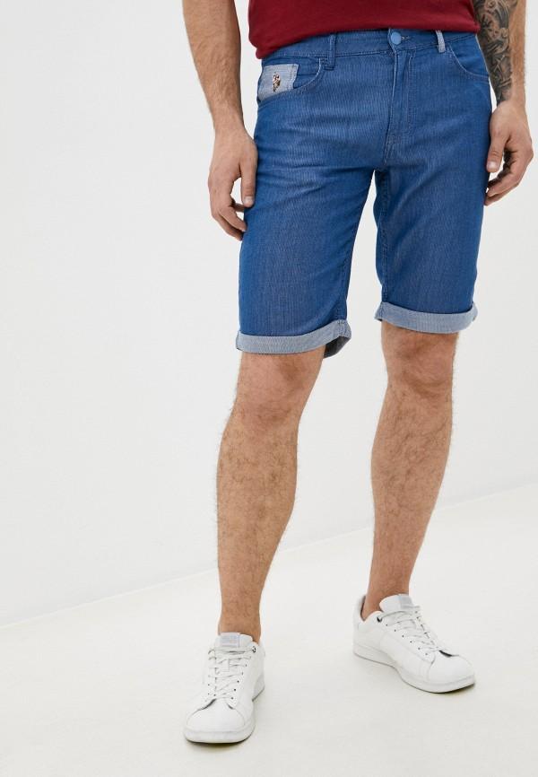 мужские повседневные шорты u.s. polo assn, синие
