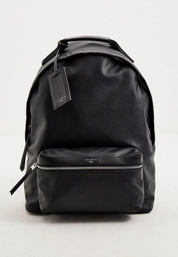 мужской рюкзак sandro, черный