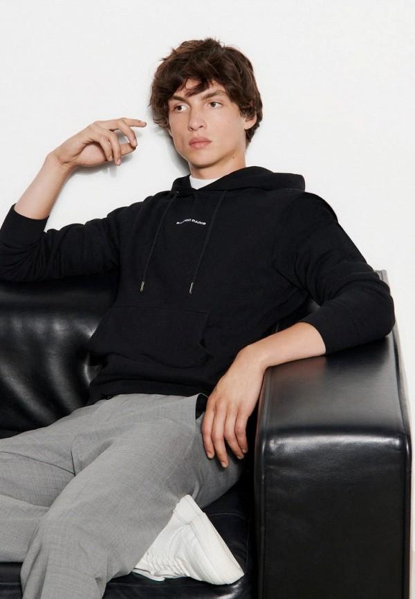 мужские худи sandro, черные