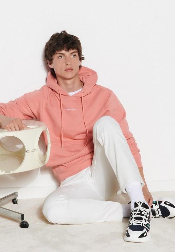 мужские худи sandro, розовые
