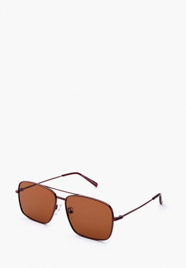 мужские солнцезащитные очки machete, коричневые